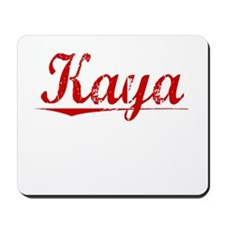 Kaya, Vintage Red Mousepad