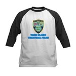 Virgin Islands Police Kids Baseball Jersey