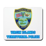Virgin Islands Police Mousepad