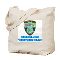 Virgin Islands Police Tote Bag