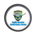 Virgin Islands Police Wall Clock