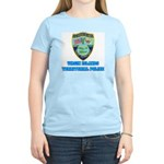 Virgin Islands Police Women's Pink T-Shirt