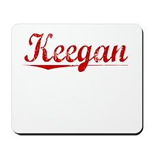 Keegan, Vintage Red Mousepad
