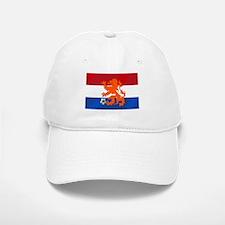 Orange Football Lion Baseball Baseball Cap