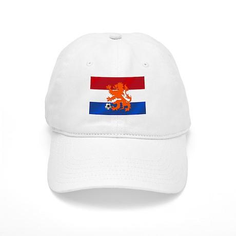 Orange Football Lion Cap