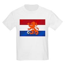Orange Football Lion T-Shirt