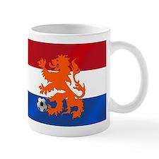 Orange Football Lion Mug