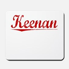 Keenan, Vintage Red Mousepad