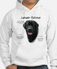 Black Lab Jumper Hoody