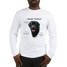 Black Lab Long Sleeve T-Shirt