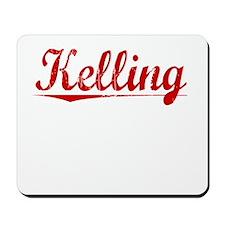 Kelling, Vintage Red Mousepad