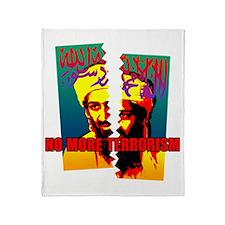 Terrorism Throw Blanket