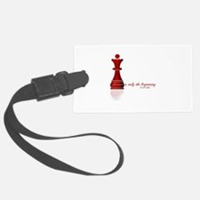 Forever is only the Beginning Chess Luggage Tag