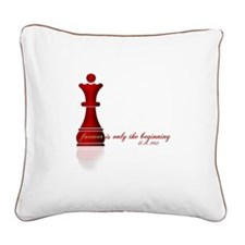 Forever is only the Beginning Chess Square Canvas