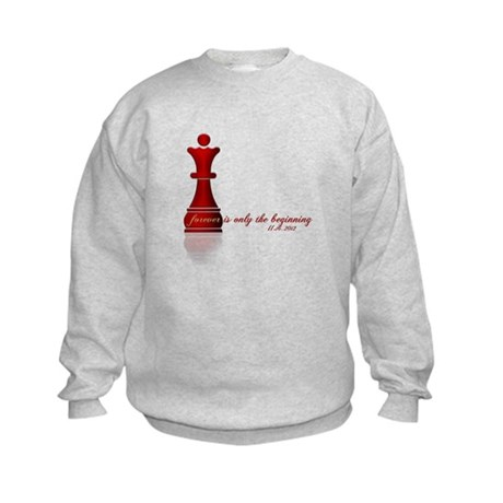 Forever is only the Beginning Chess Kids Sweatshir