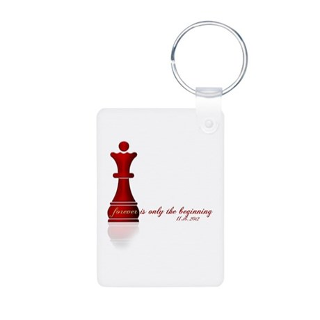 Forever is only the Beginning Chess Aluminum Photo