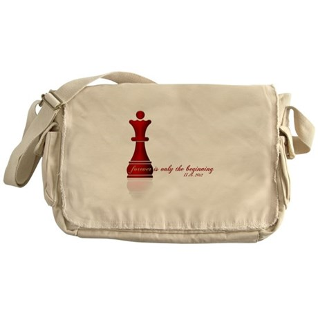Forever is only the Beginning Chess Messenger Bag