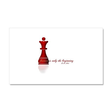 Forever is only the Beginning Chess Car Magnet 20