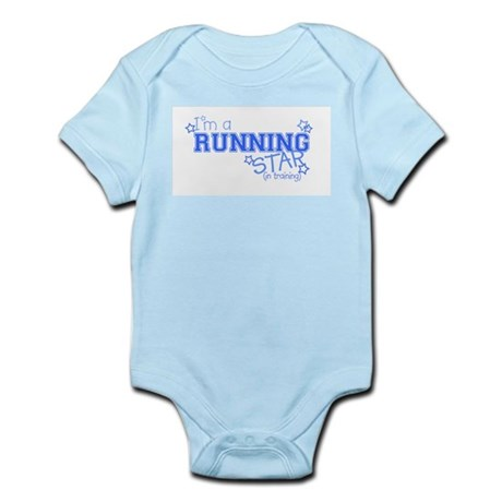 Running star Infant Creeper