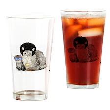 Ghetto Kitty Drinking Glass