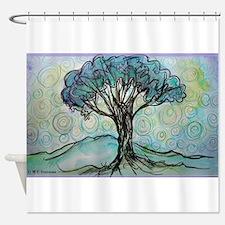 tree ! tree of life, art! Shower Curtain