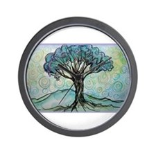 tree ! tree of life, art! Wall Clock