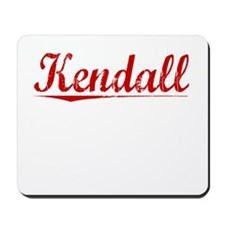 Kendall, Vintage Red Mousepad