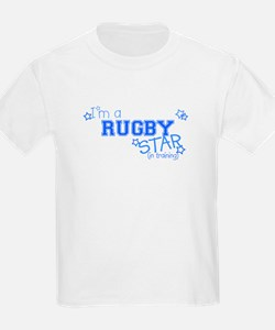 Rugby star Kids T-Shirt