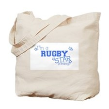 Rugby star Tote Bag