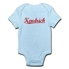 Kendrick, Vintage Red Infant Bodysuit
