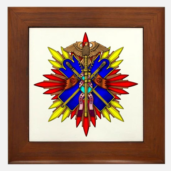 Order of the Golden Kite Framed Tile