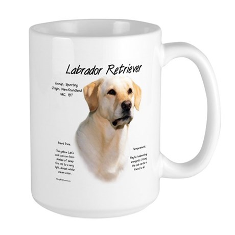 Yellow Lab Large Mug