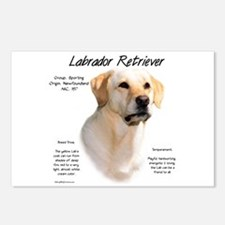 Yellow Lab Postcards (Package of 8)