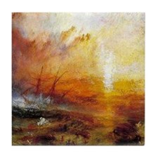 Slave Ship by Turner Tile Coaster
