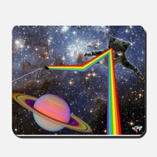 Space Cat Mousepad