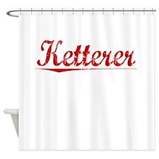 Ketterer, Vintage Red Shower Curtain