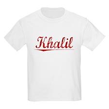Khalil, Vintage Red T-Shirt