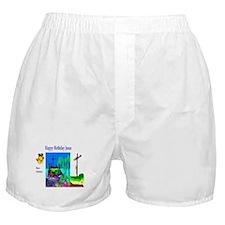 Christmas Jesus Birthday Boxer Shorts