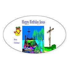 Christmas Jesus Birthday Decal