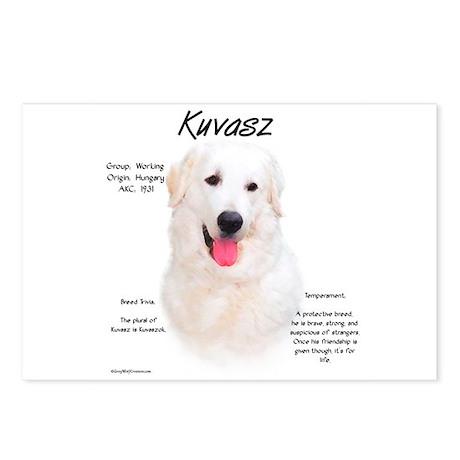 Kuvasz Postcards (Package of 8)