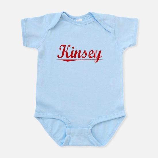 Kinsey, Vintage Red Infant Bodysuit