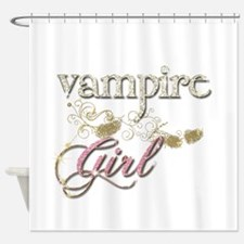 Twilight Vampire Girl Shower Curtain
