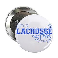 Lacrosse star Button