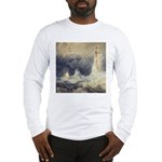 Bell Rock Lighthouse by Turner Long Sleeve T-Shirt