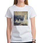 Bell Rock Lighthouse by Turner Women's T-Shirt