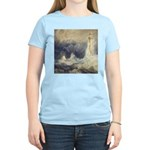 Bell Rock Lighthouse by Turner Women's Light T-Shi