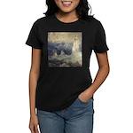 Bell Rock Lighthouse by Turner Women's Dark T-Shir