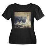 Bell Rock Lighthouse by Turner Women's Plus Size S