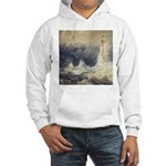 Bell Rock Lighthouse by Turner Hooded Sweatshirt