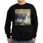 Bell Rock Lighthouse by Turner Sweatshirt (dark)